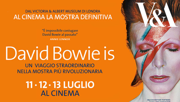 """""""DAVID BOWIE IS"""" PER 3 GIORNI AL CINEMA"""